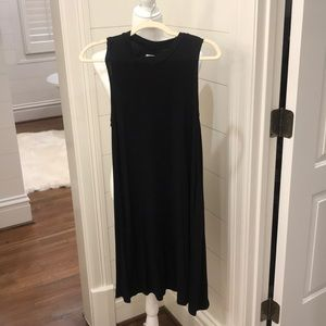 Jersey Shift Dress with Pockets